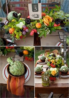 earthy wedding decor ideas | VIA #WEDDINGPINS.NET