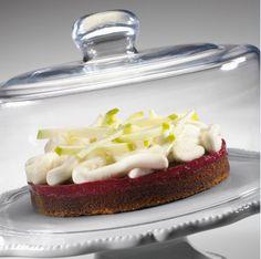 Les recettes de l'Ecole du Grand Chocolat - Tarte Granny Cassis #Valhrona