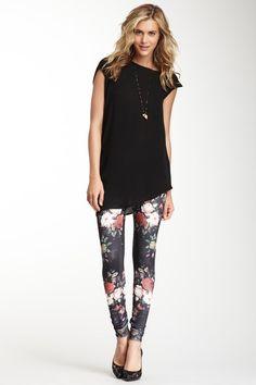 Print Legging on HauteLook                                                  outfit
