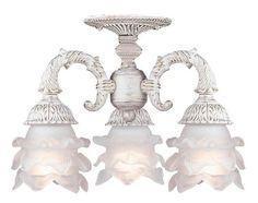 AmericanLightingStore | Paris Flea Market - Three Light Ceiling Mount