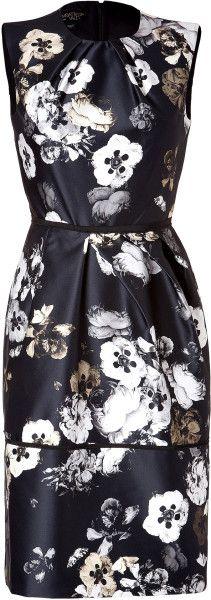 Love this: Flower Print Sleeveless Dress  GIAMBATTISTA VALLI dressmesweetiedarling