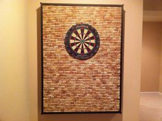 In need of awesome DIY projects for your game room? If you're still missing a few pieces to make your game room the best there is, try these ideas. 7 Awesome DIY Projects For Your Game Room It's fi… Wine Cork Projects, Wine Cork Crafts, Diy Projects, Crafts With Corks, Wine Cork Art, Auction Projects, Welding Projects, Art Auction, Bottle Crafts