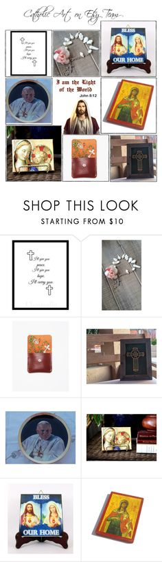"""""""Religious Art on Etsy by TerryTiles2014 - Volume 323"""" by terrytiles2014 on Polyvore featuring interior, interiors, interior design, Casa, home decor, interior decorating, ETUÍ, etsy, christian e art"""