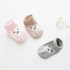 3 pares/lote 2017 Novo navio invisível meias meias de algodão fino crianças meias meias antiderrapantes bebê meias meninos e meninas Crianças meias de cor sólida em Meias de Mãe & Kids no AliExpress.com | Alibaba Group