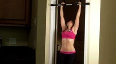How To Do Your First Pullup! for women...  Come on ladies.... join me on this!