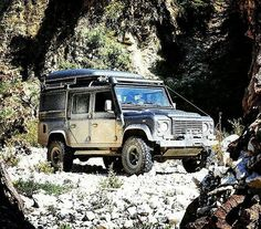 """The technical term you're looking for is, """"super-duper, duper, duper"""". By @drivealbania #landrover #defender110crewcab #landroverdefender #landroverphotoalbum #4x4 #offroad"""