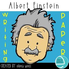 Perfect publishing paper for any writing related to Einstein. English Today, Writing Paper, Albert Einstein, Writer, Teacher, Color, Style, Swag, Professor