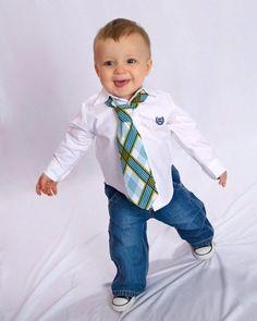 Little Guy Necktie Tie - cute for the boys!