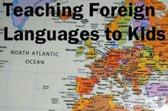 Our English Homeschool: Cum ii invatam pe copii o limba straina cand noi n...