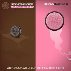 One magical combination remembers another. #VeryChocolatey #VeryStrawberry #OreoRewind — with Umesh Sharma.