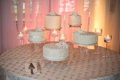deconstructed wedding cake.    Photography: Orange Girl Photographs - orangegirl.com  Coordination: Lynn Fletcher Weddings - lynnfletcherweddings.com  Floral Design: Flower Artistry - facebook.com/flower.artistry    Read More: http://www.stylemepretty.com/canada-weddings/alberta/banff/2012/10/15/fairmont-chateau-lake-louise-wedding-from-orange-girl-photographs/