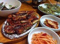 spicy grilled eel -