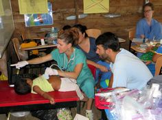 Dr. Snarski on Medical Mission in LaSabana, Panama