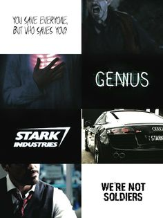 Tony Stark aesthetic