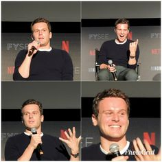Jonathan Groff at the Netflix FYSee in Los Angeles (June 1, 2018)