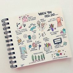 Bullet Journal Ideas // Could also make one for Stressed or Anxious