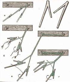 Survival Tips, Survival Skills, Rope Railing, Viking Dragon, Newspaper Basket, Rope Knots, Apocalypse Survival, Bone Carving, Bushcraft