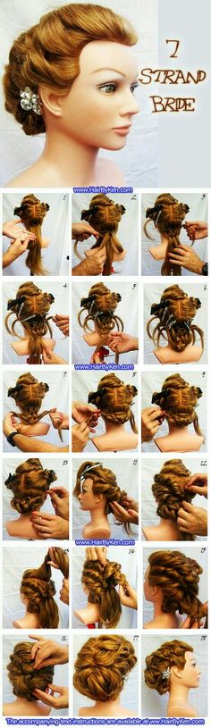 That is a cool hairstyle tht need a lot of time but beautiful