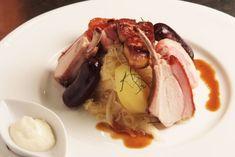 La recette de la Choucroute au Cochon de Lait Rôti et Foie Gras (fumé) ! Cliquez sur la photo pour accéder à la recette !!