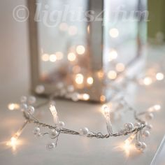 Indoor-Fairy-Lights-Garland-With-30-Clear-Bulbs-Pearl-Beads-Wedding-Decoration