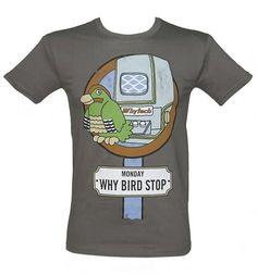 Men's Why Bird Stop #Playdays T-Shirt from TruffleShuffle xoxo