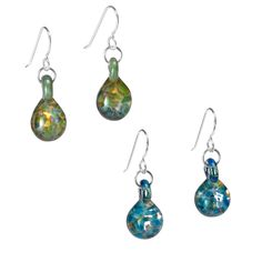 GLASS BIRTHSTONE EARRINGS | Birthstones, Earring, Birthday, Gems, Stones, Jewelry, January, February, March, April, May, June, July, August, September, October, November, December | UncommonGoods