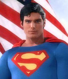 Christopher Reeve as Superman aka Clark Kent.the Superman of our generation. Christopher Reeve, Batman E Superman, Superman Movies, Superman Actors, Original Superman, Superman Stuff, Superman Family, Superman Logo, Superhero Movies