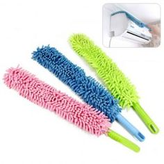 $2.61 Japanese Style Bendable Chenille Cleaning Brush