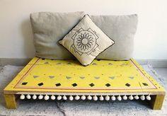 Pallet furniture bed