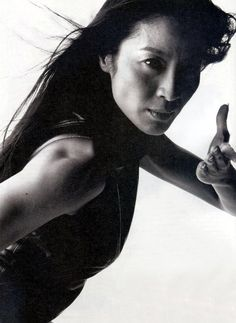 Michelle Yeoh (Yu Shu Lien in Crouching Tiger Hidden Dragon) - a martial artist role model Michelle Yeoh, Martial Arts Movies, Martial Arts Women, Martial Artists, Ipoh, Gi Joe, Muay Thai, Karate, James Bond