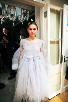 London Fashion Week SS15   Dahlia