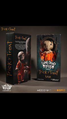 1c4177b1 Trick Or Treat Sam, Trick R Treat Movie, Scarecrow Mask, Horror Merch,