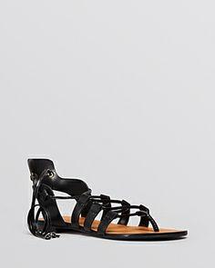Enzo Angiolini Flat Gladiator Sandals