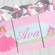 A True Princess Custom Wall Letters (ANY COLORS)