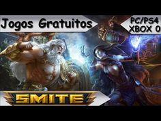 Jogos Gratuitos - SMITE - PS4/PC/XBOX 0