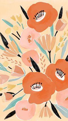 Lisa Rupp: FREE Floral Desktop / Phone Wallpaper Download