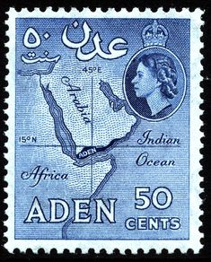 Country: Aden Series: Queen Elizabeth II Pictorials Catalog codes: Michel AD Stamp Number AD Yvert et Tellier AD 54 Stanley Gibbons AD 58 Themes: Heads of State Rare Stamps, Vintage Stamps, Abou Dabi, Crown Colony, Number Stamps, King George, Mail Art, Commonwealth, Stamp Collecting