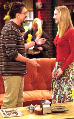 11. Phoebe and David: We Ranked All the Friends Couples, and No. 1 May Shock You...