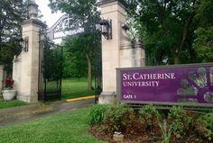 West entrance into St. Catherine University - #mylocalmn #stkates #stcatherines
