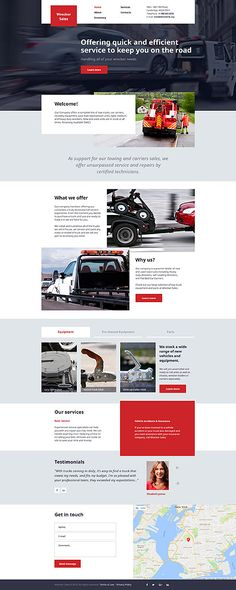 Efficient Car Service #website #template. #themes #business #responsive #websitethemes