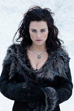 "Katie McGrath as Morgana in ""Merlin."" This girl is gorgeous! Morgana Le Fay, Merlin Morgana, Bradley James, Jenna Coleman, Angel Coulby, Mode Sombre, Diana, Beautiful People, Beautiful Women"