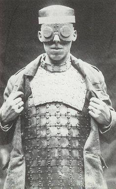 British body armor . 1917 .