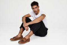 Tu Sainsburys Spring/Summer 2018 Men's Lookbook #footwear #sitting #leg #shoulder #male #standing #arm #joint #muscle Sainsburys, Spring Summer 2018, Looks Great, Footwear, Fashion Looks, Mens Fashion, Legs, Shoulder, Boots