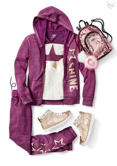 Be cozy. Be comfortable. (And don't forget toff shine! Cute Outfits For School, Cute Girl Outfits, Kids Outfits Girls, Tween Girls, Dance Outfits, Sport Outfits, Cool Outfits, Preteen Fashion, Girls Fashion Clothes