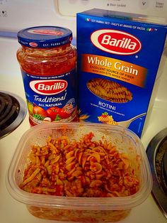 Advocare Turkey Spaghetti! Ground Turkey Meat, All Natural Barilla Tomato Sauce, and Barilla Whole Grain Pasta! Great lunch for Max Phase and still taste great as meal prep! Remember to stay within portion sizes.