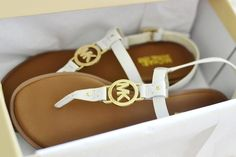 Michael Kors Women's Sondra Sandals - white. Just bought these from DSW and love them!!!