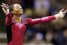 Congrats to Gabby Douglas on becoming the 1st African-American to win the Olympic Gymnastics All-Around!!