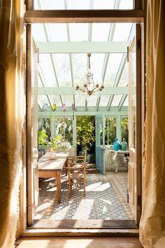 Vivre Shabby Chic: Un sogno di veranda.