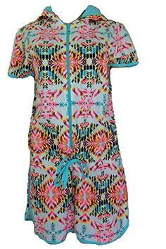 Ladies Hooded Cotton Aztec Tribal Pattern Beach Lounger Playsuit Onesie (S) Strawberry Hill Cottage http://www.amazon.co.uk/dp/B00TFCBLUW/ref=cm_sw_r_pi_dp_EOG3ub115MTGC