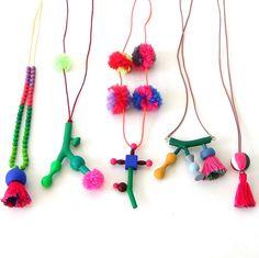 wood necklaces pipapiep